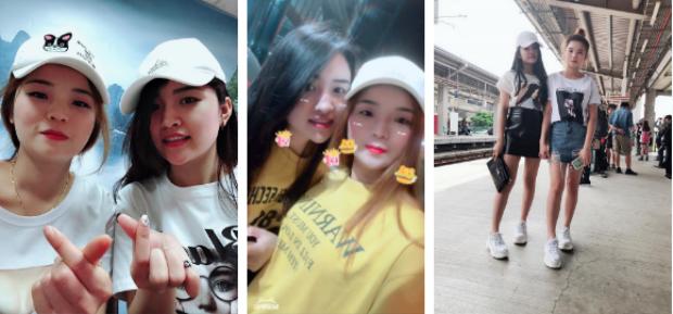 Những hình ảnh thường ngày của cặp đôi xinh đẹp Ngọc Linh - Vân Anh - Ảnh: NVCC