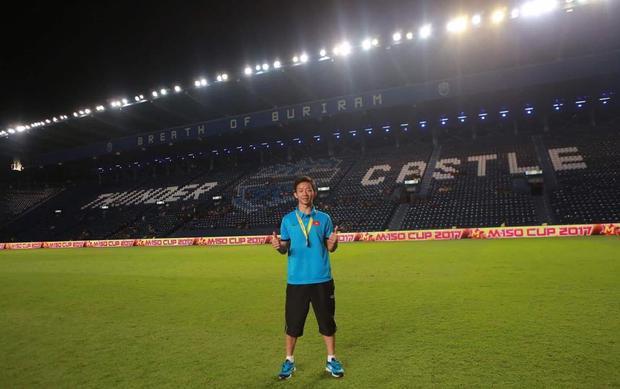 Châu Ngọc Quang chơi tốt ở mùa bóng 2018.