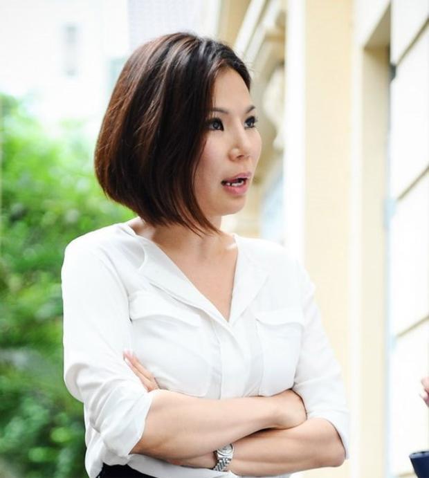 Bà Vũ Thụy Hồng Ngọc.