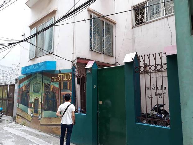 Ngôi nhà 4 tầng nơi xảy ra vụ án.