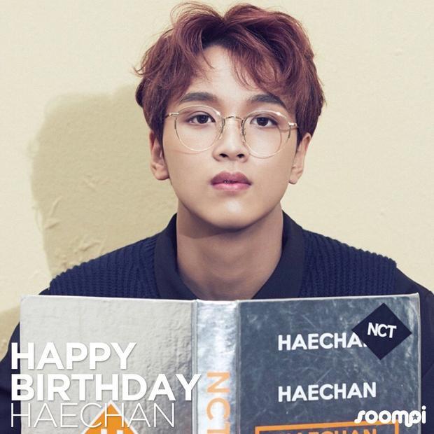Haechan à, sinh nhật vui vẻ nhé! Hãy ăn thật ngon, sống thật hạnh phúc. Chúc em sẽ luôn thành công trên con đường mà em đã chọn và tỏa sáng như chính cái tên của mình.