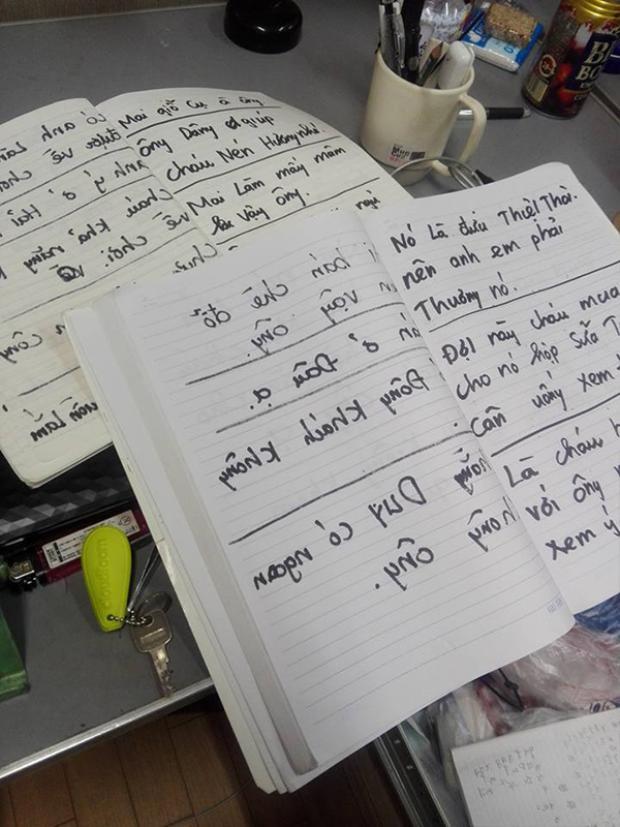Du học sinh 9X gây xúc động khi kể chuyện tâm sự cùng ông nội bị tai biến bằng giấy bút