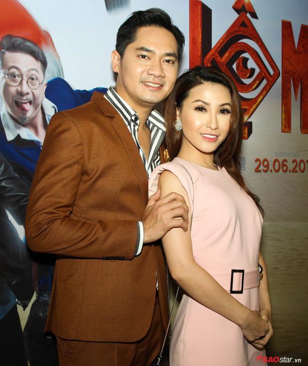 Sau lùm xùm tình cảm, Minh Luân xuất hiện rạng rỡ bên Vĩnh Thuyên Kim tại showcase phim Lộ mặt