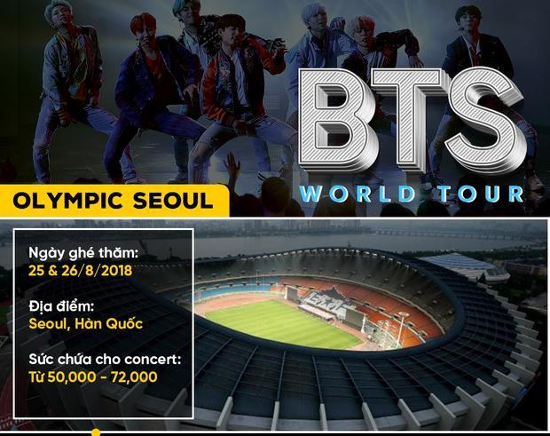 BTS World Tour: Love Yourself: khi boygroup Kpop cả gan chinh phục những thánh địa âm nhạc thế giới
