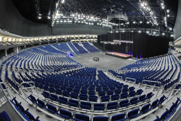 Mercedez-Benz Arena, Berlin, Đức