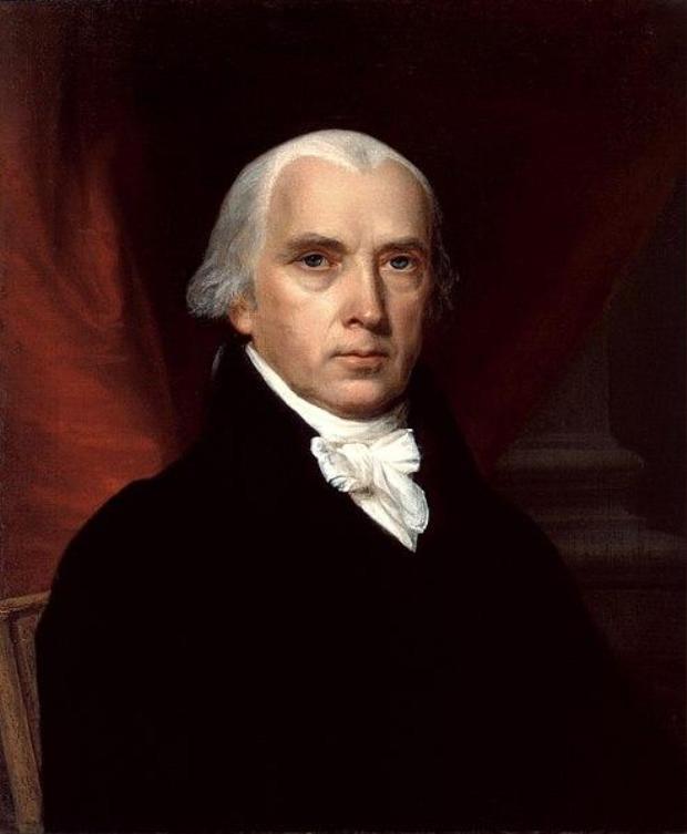 32. James Madison và Thomas Jefferson từng bị bắt cùng nhau tại Vermont vì đi xe ngựa vào Chủ nhật, điều không được luật Liên Bang lúc bấy giờ cho phép. Ảnh: Hiệp hội ghi chép lịch sử Nhà Trắng