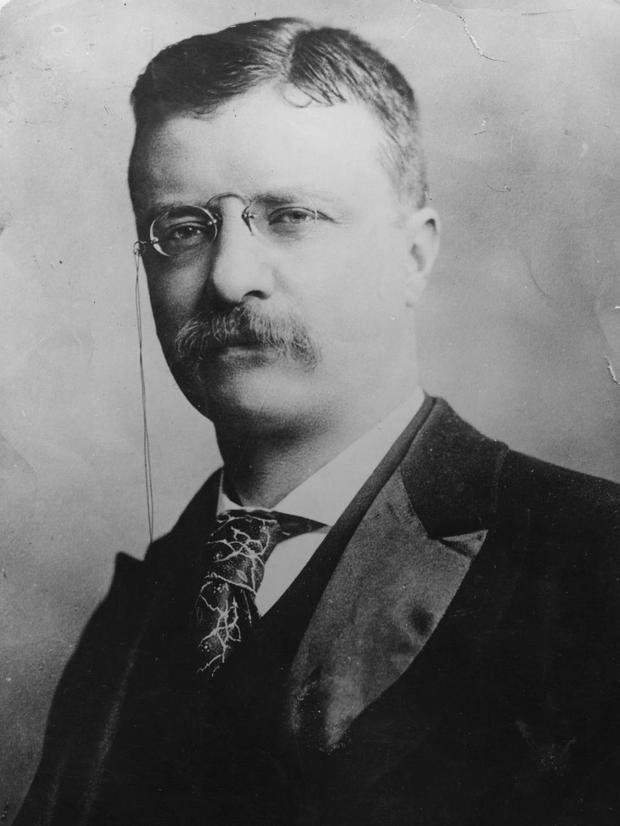 39. Tổng thống trẻ nhất là ông Theodore Roosevelt - nhậm chức năm 42 tuổi sau khi ông William MacKinley bị ám sát. Ảnh: Hulton Archive/Getty Images