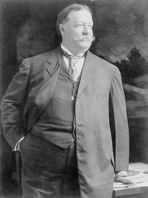 43. William Howard Taft là Tổng thống nặng nhất trong lịch sử (147 kg).
