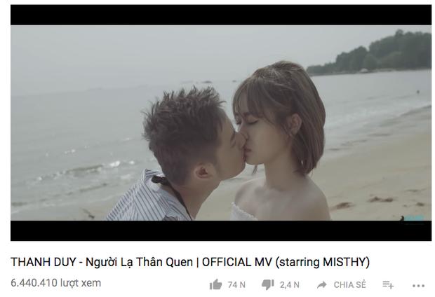 Người lạ thân quen giúp Thanh Duy nối dài chuỗi MV triệu view trong sự nghiệp.