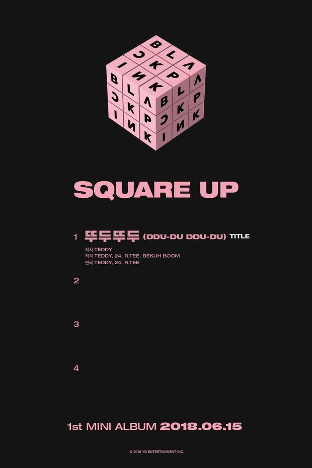 Khi YG chỉ công bố 1 ca khúc chủ đề.