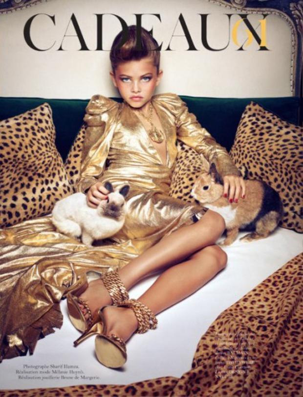 Những bức ảnh tai hại khiến sự nghiệp của siêu mẫu nhí đình đám một thời điêu đứng.