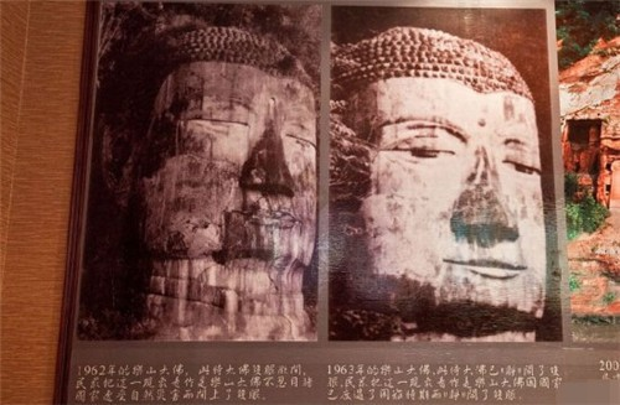 Sử sách Trung Quốc từng ghi lại khoảnh khắc 4 lần tượng Phật nhắm mắt và nhỏ lệ.