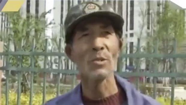 Ông WangShoushan, 64 tuổi.