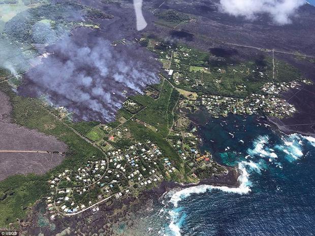 Từ khi núi lửa Kilauea phun trào, hơn 5.000 mẫu đất ở Hawaii đã bị bao phủ bởi dung nham.
