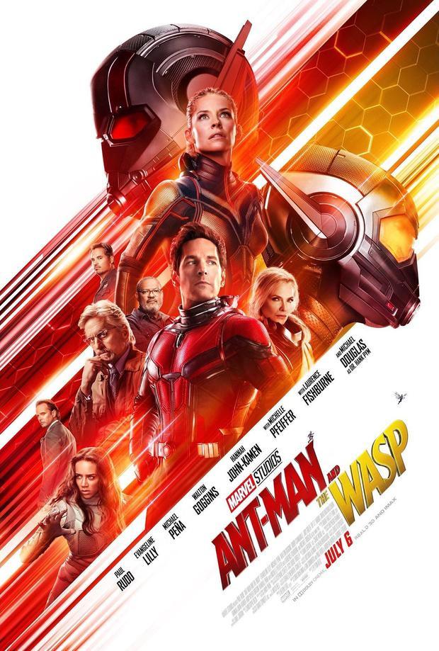 """""""Ant-Man and the Wasp"""" đã ra mắt vào tháng 7."""