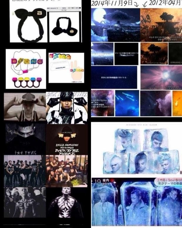 Bằng chứng công ty từng đạo nhiều nhóm nhạc Kpop.
