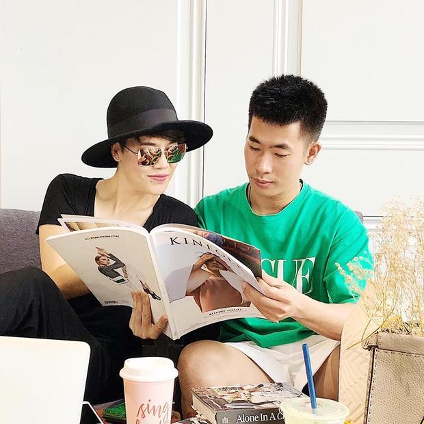 Hiện anh đang là stylist đồng hành cùng Thu Phương.