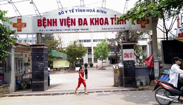 Bệnh viện Đa khoa tỉnh Hòa Bình.