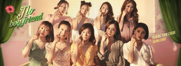 Hình ảnh nhóm Ngựa Hoang cùng 3 thành viên mới trong MV sắp phát hành từ Hoàng Yến Chibi.