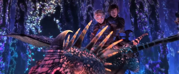 Rồng Toothless đã tìm được bạn gái, tích điện tạo sấm sét như Thor trong trailer Bí kíp luyện rồng 3