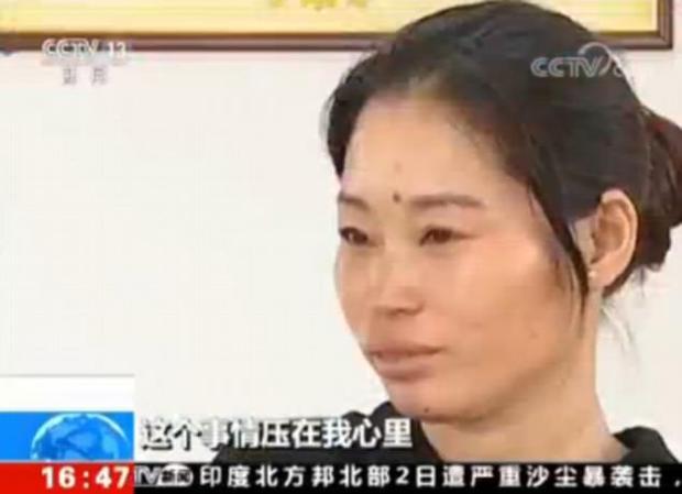 Chị Lin chưa bao giờ muốn ngừng tìm kiếm gia đình ruột thịt. Ảnh: CCTV