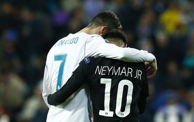 Việc Real mua Neymar vấp phải sự phản đối kịch liệt từ Ronaldo