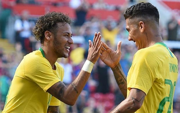 Neymar hiện đang cùng đội tuyển Brazil chuẩn bị cho kỳ World Cup trên đất Nga