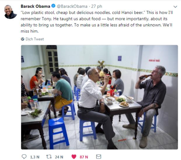 Bài viết của cựu Tổng thống Obama.
