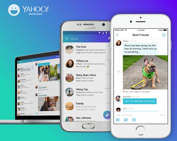 Phiên bản làm mới của Yahoo Messenger ra mắt hồi năm 2016 cũng không khiến ứng dụng này hấp dẫn hơn trong mắt người dùng.