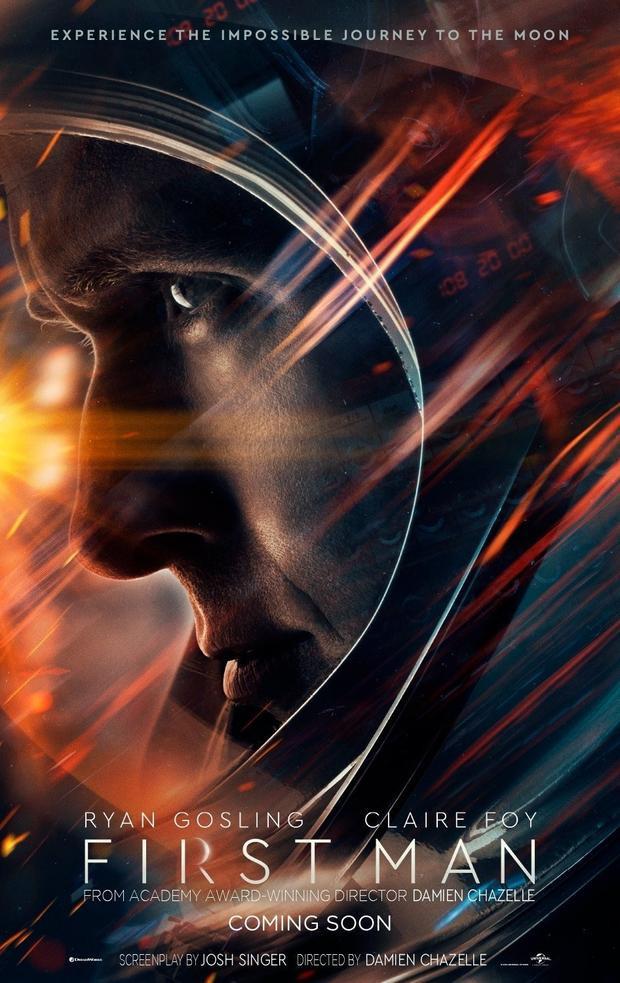 Đạo diễn La La Land đưa Ryan Gosling ra ngoài không gian trong trailer đầu tiên của 'First Man
