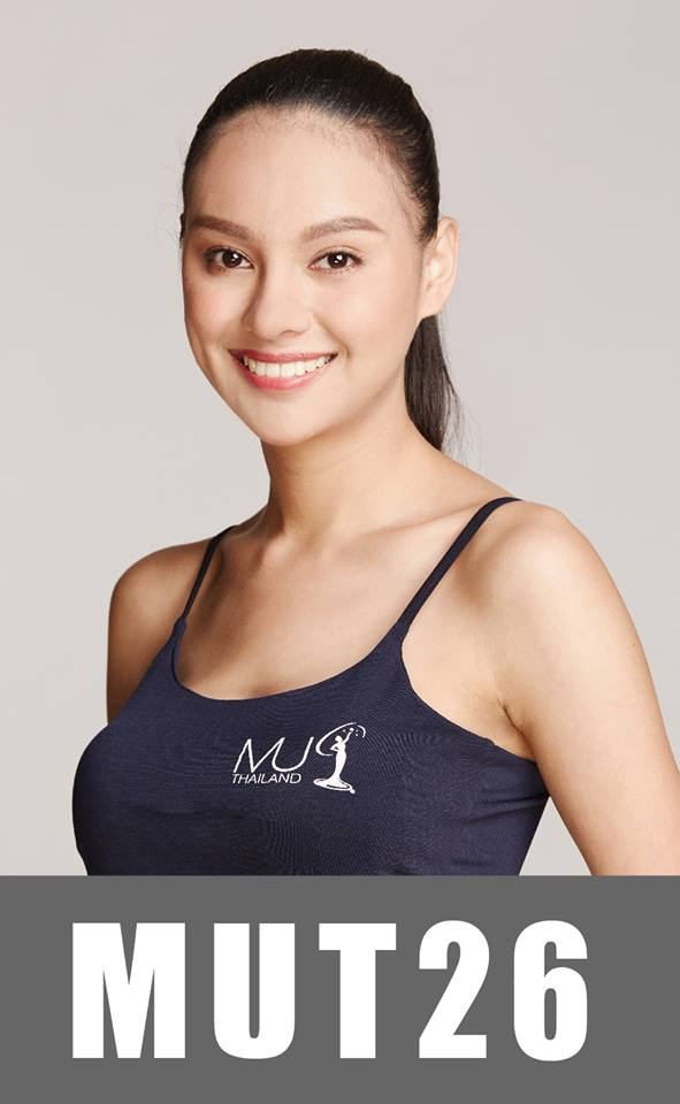 Năm nay, thí sinh23 tuổi - Prachada Khunrak là một gương mặt khá triển vọng. Cô ghi điểm với gương mặt sắc sảo, mái tóc dài thẳng mượt cùng chiều cao 1m70. Trong những năm gần đây Thái Lan khá thành công khi đã tạo dấu ấn mạnh ở đấu trường Miss Universe. Liên tục trong 3 năm liền đều intop (năm 2015 - top 10; năm 2016 - top 6; năm 2017 - top 5).