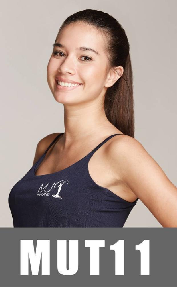 Thí sinh này chinh phục người đối diện bởi gương mặt quá đỗi xinh đẹp, thần thái hút hồn.Cô sở hữu chiều cao 1m65.Như thường lệ người chiến thắng danh hiệu Hoa hậu Hoàn vũ Thái Lan sẽ đại diện đất nước này tham gia đấu trường Miss Universe cùng năm. Đây là cuộc thi sắc đẹp uy tín nhất và được tổ chức thường niên tại Thái Lan.