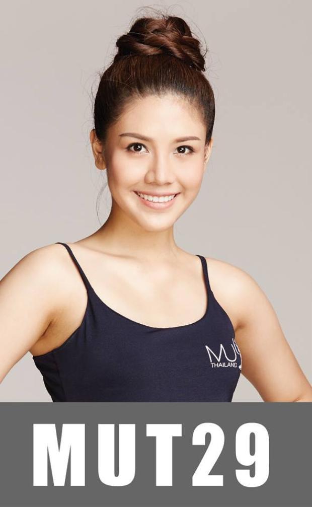 """Chính vì vậy người dân Thái Lan đang kỳ vọng vào mùa giải năm nay có thể chọn ra một nhan sắc mạnh giúp đất nước này """"rinh"""" vương miện Miss Universe 2018. Trong ảnh là thí sinh mang số báo danh 29, ghi điểm với nhan sắc tươi trẻ, đậm chất Thái. Mỹ nhân 23 tuổi này cũng nhận được sự ủng hộ cao từ fan yêu sắc đẹp trong nước."""