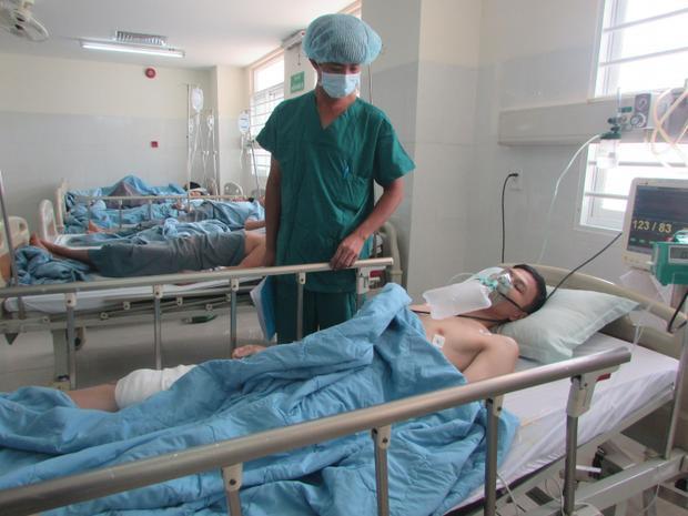 Sau cuộc nổ súng, nạn nhân Việt bị trúng đạn, thương tích 55%.