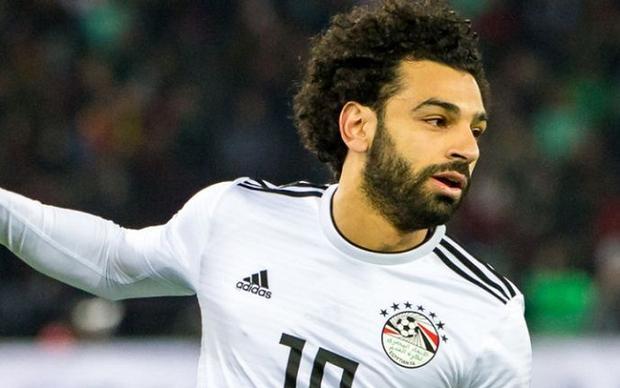 Salah trở thành niềm hy vọng của đội tuyển Ai Cập ở World Cup lần này.