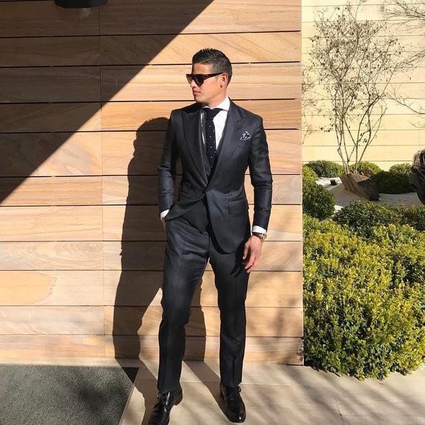 Với chiều cao lí tưởng, 1m8, James là một trong những cầu thủ đẹp trai nhất đội tuyển World Cup năm nay.