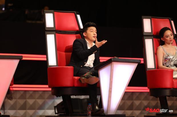 """""""Anh 2"""" Lam Trường hào hứng trước giọng ca của anh chàng đến từ Bạc Liêu."""