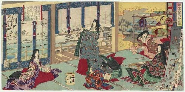 Trong khi chế độ thái giám xuất hiện ở nhiều quốc gia phong kiến, đặc biệt là các nước châu Á, thì tầng lớp này lại vắng bóng trong hoàng cung Nhật Bản. (Tranh minh họa).