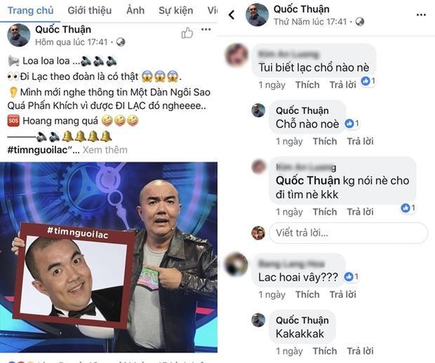 Sao Việt cầu cứu cộng đồng mạng tìm người lạc