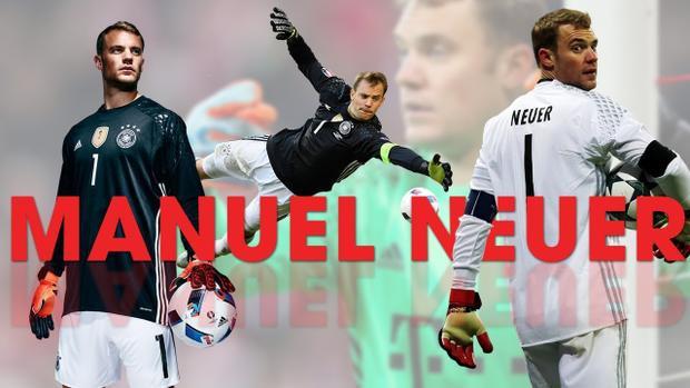 Thủ môn Neuer được chọn là người trấn giữ khung gỗ của tuyển Đức ở World Cup 2018.