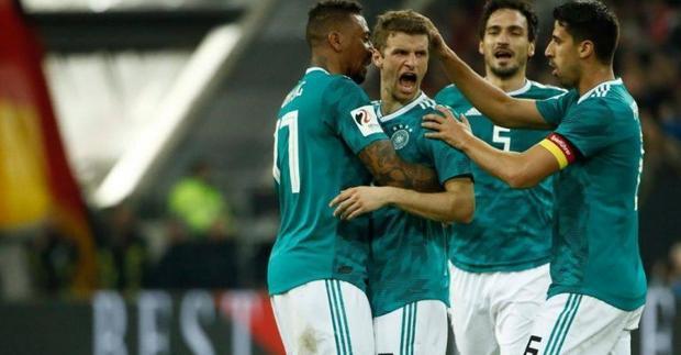 Tuyển Đức hội tụ mọi yếu tố để vô địch World Cup 2018.