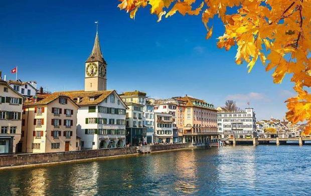 Zürich - thành phố có 1/4 dân số là triệu phú.
