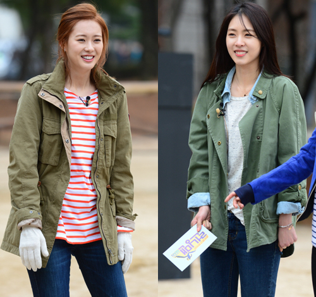 """Cùng xuất hiện trong """"Running Man"""". Nếu bạn nghĩ Go Ara ít nói thì Lee Yeon Hee chỉ biết cười thôi."""