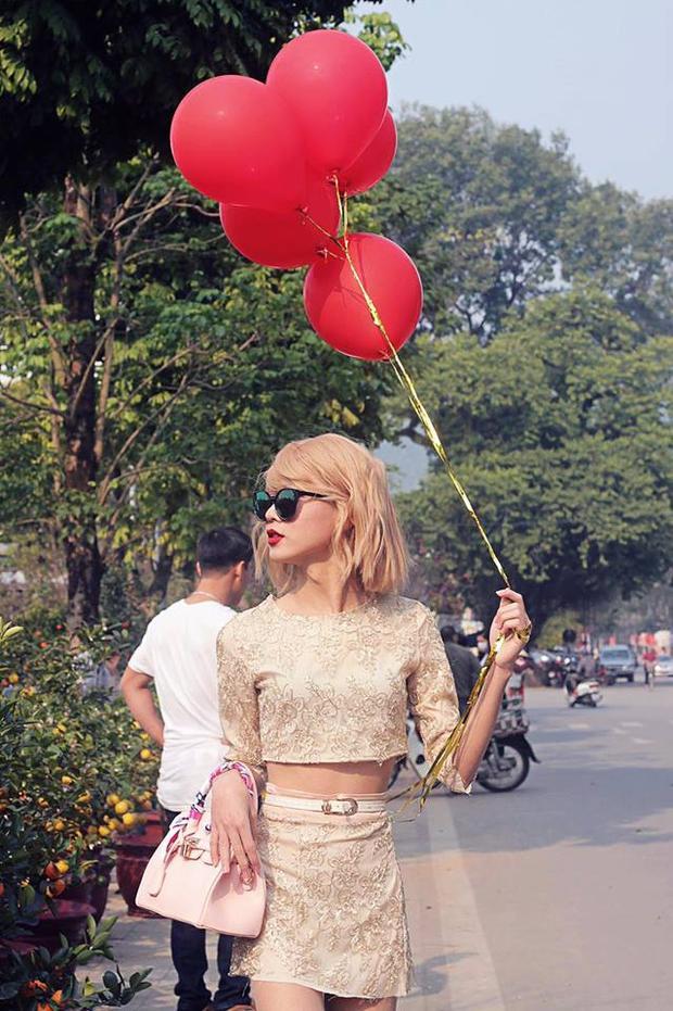 Tùng hóa thân thành nàng Taylor Swift khiến mọi người ngơ ngẩn.