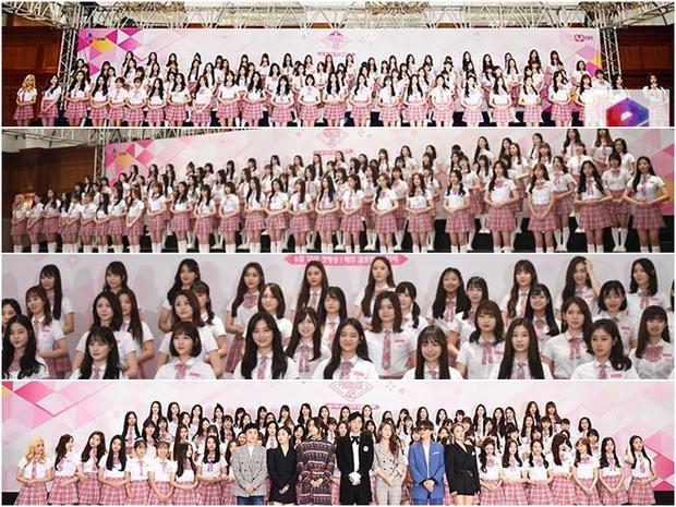 """92 thí sinh, các vị HLV mảng hát, rap, nhảy và """"chủ xị"""" Lee Seung Gi hôm nay."""