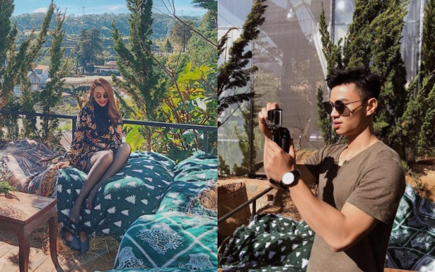 Hình ảnh được cho là bằng chứng hẹn hò của Yến Trang và bạn trai tin đồn.