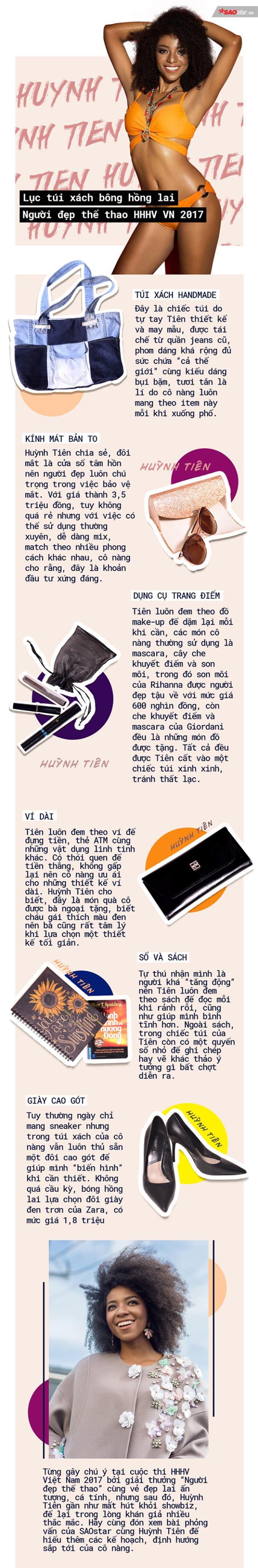 Soi túi xách tự chế của bông hồng lai da nâu nhất Việt Nam có gì hay ho?