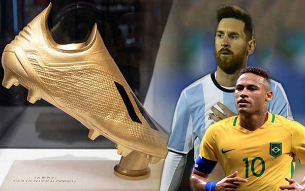 Odds Shark tin tưởng Messi hoặc Neymar sẽ giành danh hiệu Vua phá lưới World Cup 2018.