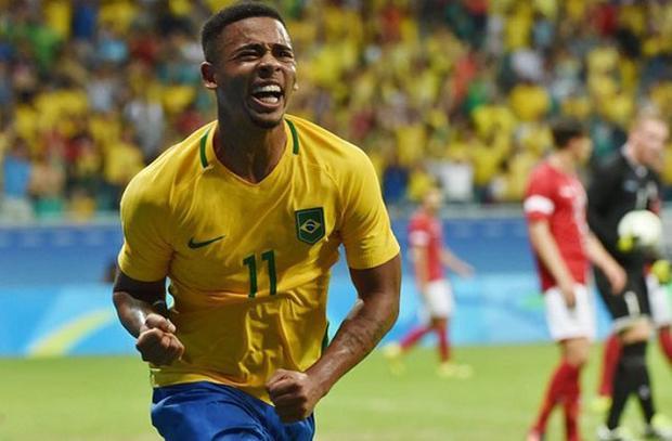 = 3. Gabriel Jesus - Brazil: Tỷ lệ cược (đặt 1 ăn 16).