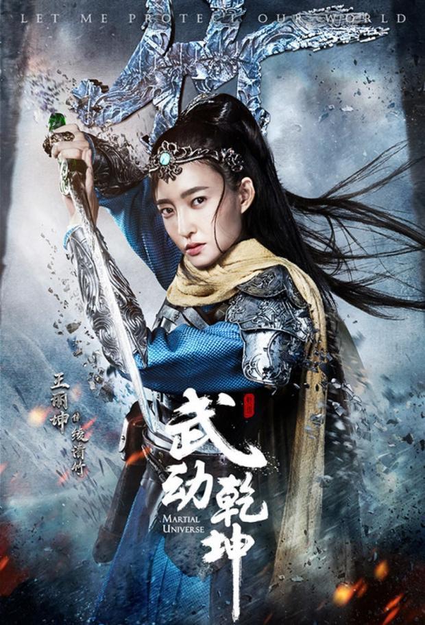 Vương Lệ Khôn vai Lăng Thanh Trúc
